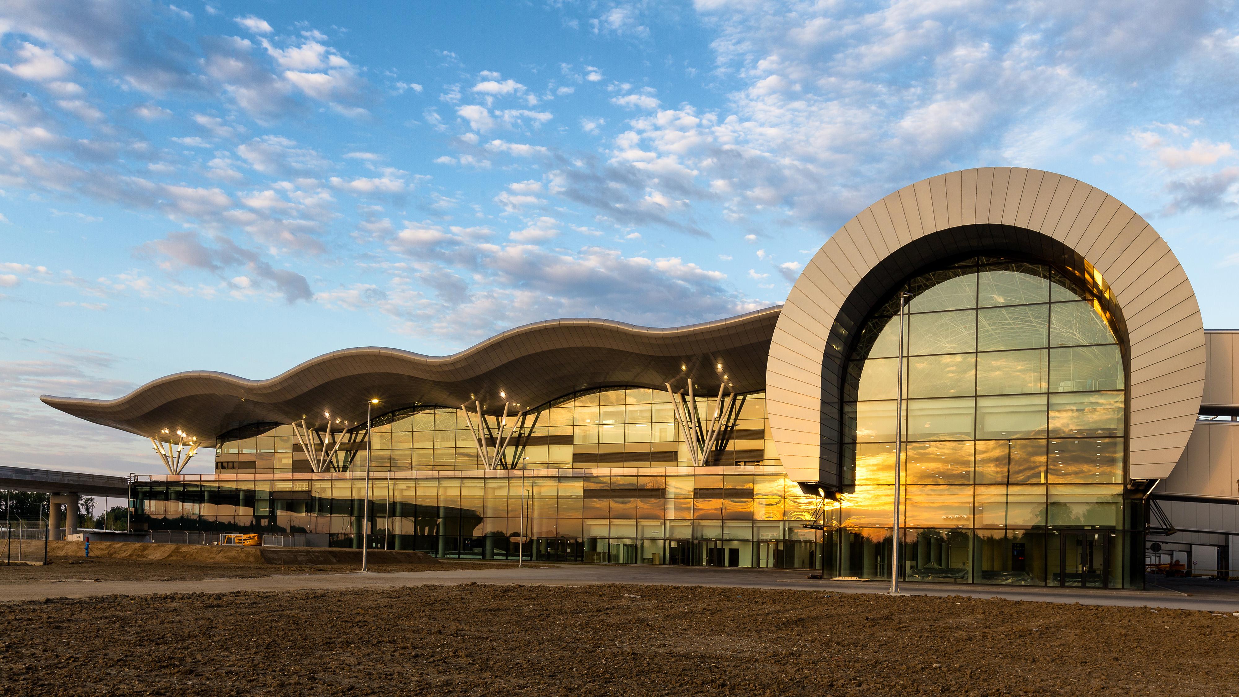 Projekt Novog Putničkog Terminala Zračne Luke Franjo Tuđman U širem Izboru Natjecanja WAN Transport Award 2017