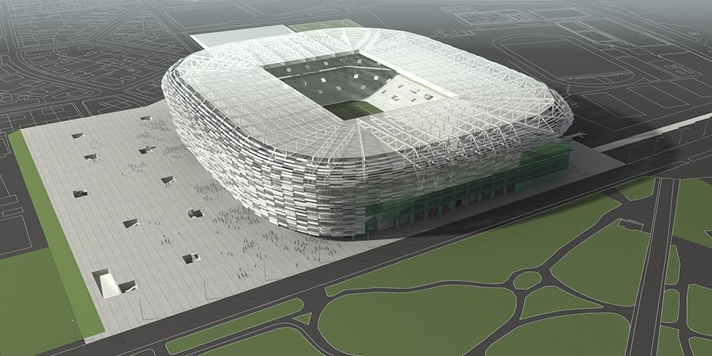 2006. Stadion Maksimir Zagerb     3d Vizualizacija3